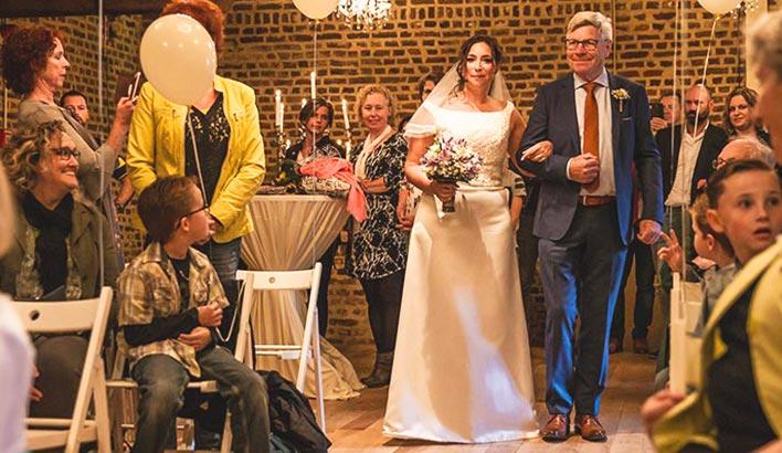 Een onvergetelijke bruiloft